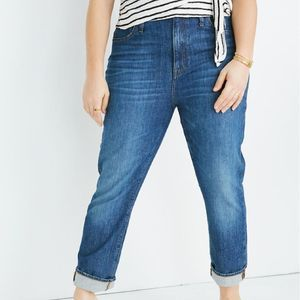 The High-Rise Slim Boyjean: Eco Edition Size 31